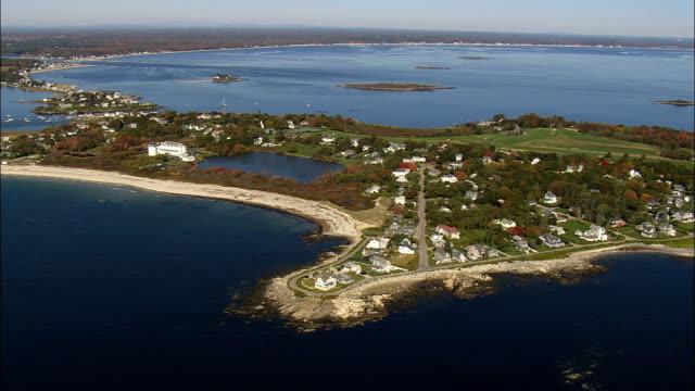 Bideford Pool  - Aerial View - Maine,  York County,  United States