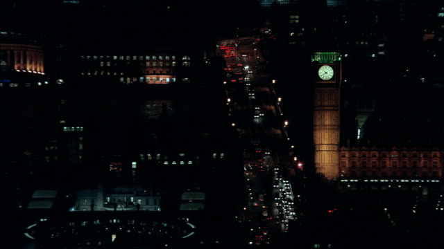 big ben - aerial view - england, greater london, lambeth, united kingdom - conspiracy stock videos and b-roll footage