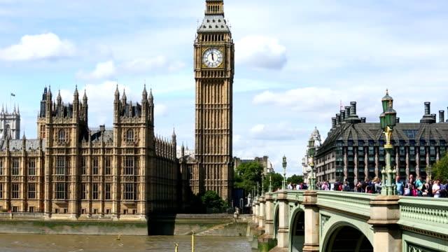 ビッグベン、国会議事堂、ロンドン - ウェストミンスター宮殿点の映像素材/bロール