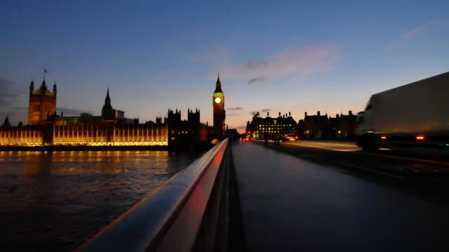 4k big ben and trafalgar square  in london, uk - big ben stock videos and b-roll footage