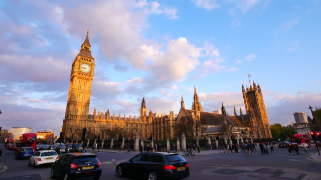 4k big ben and trafalgar square  in london, uk - government stock videos and b-roll footage