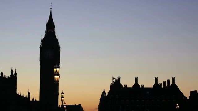 hd big ben and westminster bridge - wahrzeichen stock videos & royalty-free footage