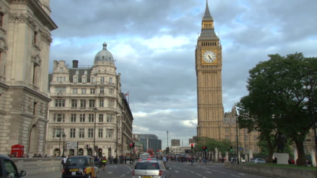 big ben clock tower in london - clock tower stock videos & royalty-free footage