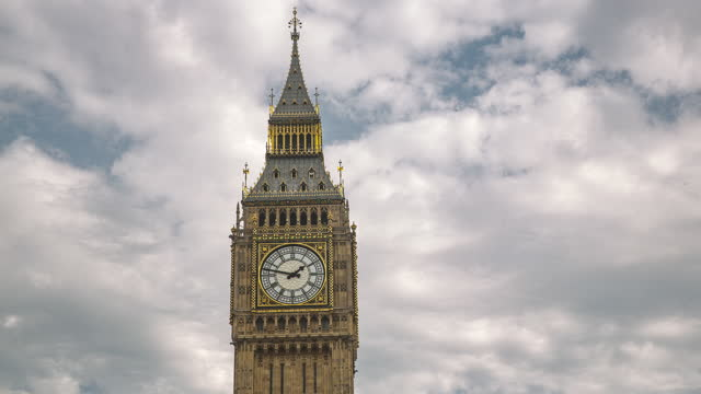 big ben clock tower - clock tower stock videos & royalty-free footage