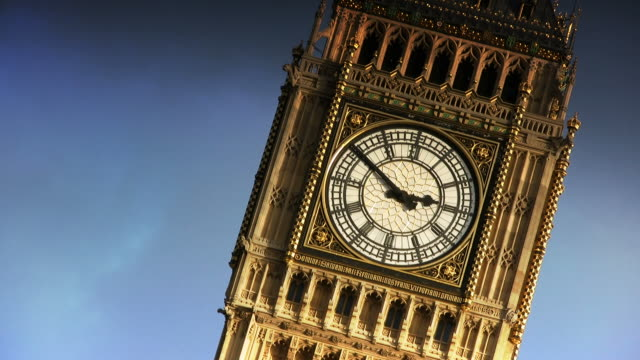 big ben clock tower (london, england) - big ben stock videos & royalty-free footage