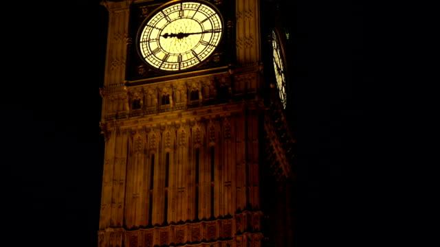 big ben close up - london - big ben stock videos and b-roll footage