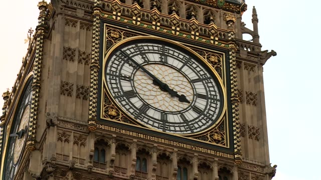 big ben in london - ornate stock videos & royalty-free footage