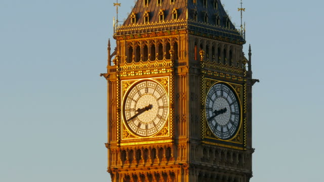 big ben, london, south england, great britain - clock face stock videos & royalty-free footage