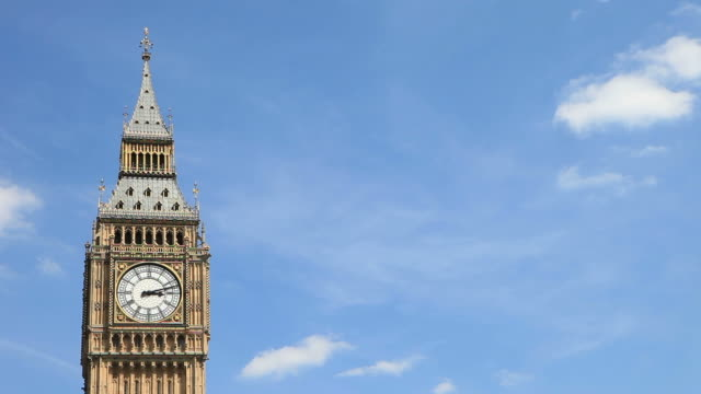 big ben, london, uk - time lapse. - house of commons stock videos & royalty-free footage