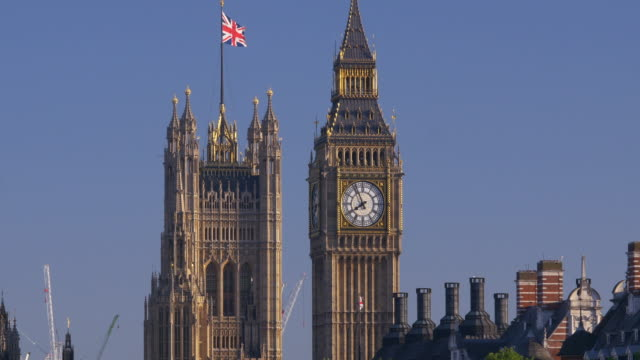 big ben longshot.4k. - famous place stock videos & royalty-free footage