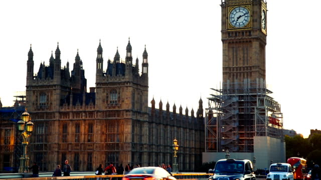 big ben. palace of westminster. parliament. london. - parliament building stock videos & royalty-free footage