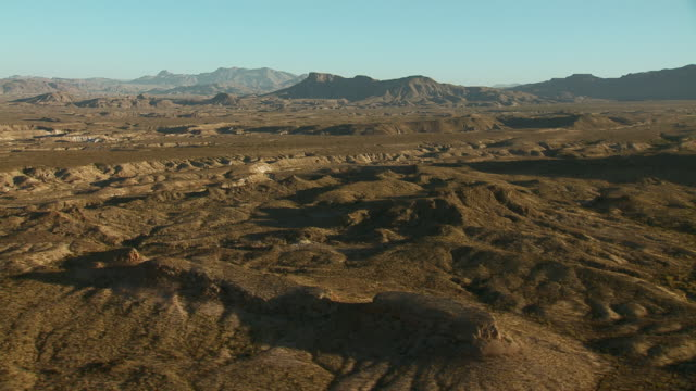 big bend landscape with tule mountain. - basin and range province stock videos and b-roll footage
