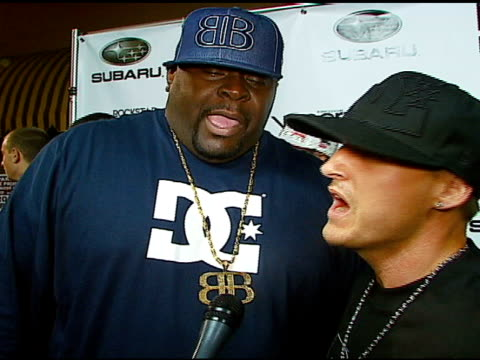 big black and rob dyrdek on their new reality show 'rob and big black' as an odd couple show, on some of the odd things they do on the show, on why... - subaru stock videos & royalty-free footage