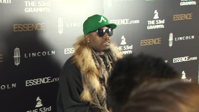 big boi at the 2nd annual essence black women in music event honoring janelle monae at los angeles ca. - big boi stock videos & royalty-free footage