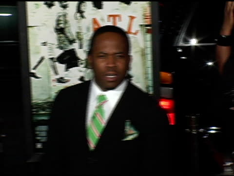 big boi at the 'atl' los angeles premiere at grauman's chinese theatre in hollywood, california on march 30, 2006. - big boi stock videos & royalty-free footage