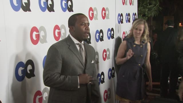 big boi at the gq men of the year awards at los angeles ca. - big boi stock videos & royalty-free footage