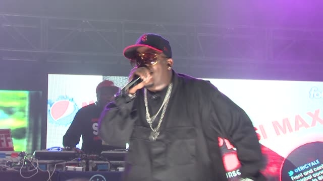 big boi at the pepsimax lot at 2011 sxsw music and film festival - big boi, the sounds and locksley performance at austin tx. - big boi stock videos & royalty-free footage