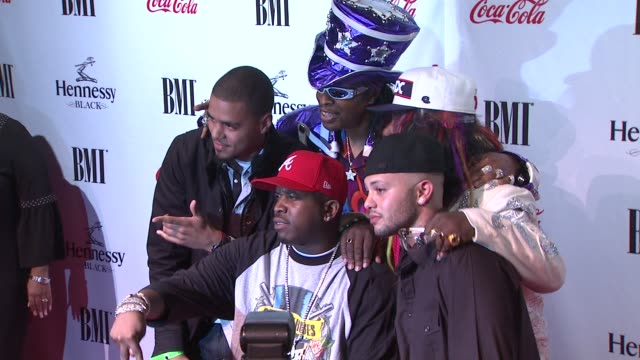 big boi, bootsy collins, george clinton and guests at the 9th annual bmi urban music awards at new york ny. - big boi stock videos & royalty-free footage