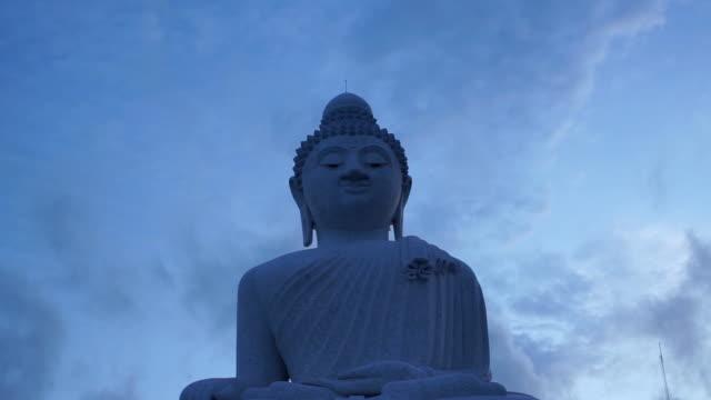 vidéos et rushes de grand bouddha visage - culture thaïlandaise