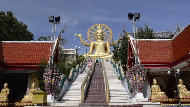 MS Big buddha golden statue in temple (Ko Samui Island) / Big Buddha, Ko Samui, Thailand