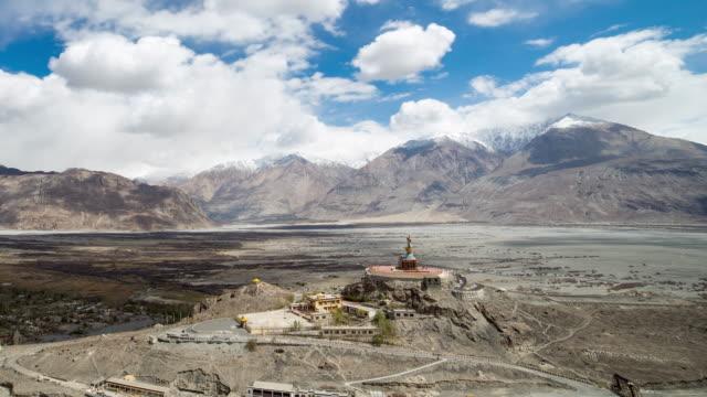 Big buddha in leh ladakh india