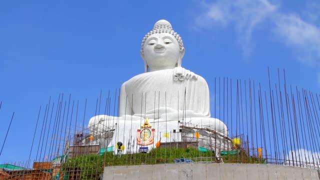 big buddha, phuket, thailand. - obesity icon stock videos & royalty-free footage