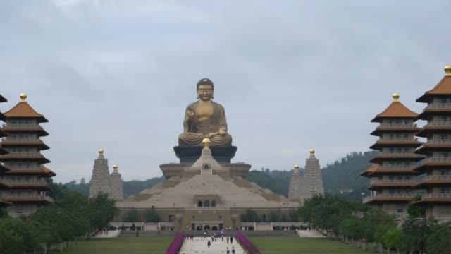 Big Buddha statue at Fo Guang Shan Pagoda, Kaohsiung, Taiwan