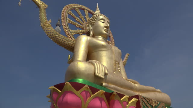 TU / Big Buddha statue at Wat Phra Yai temple