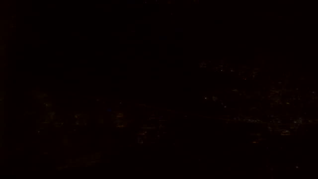 Stor stad på natten