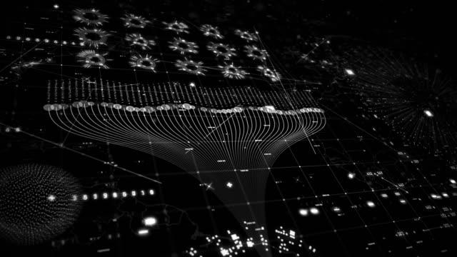 big data techno grid - improvement stock videos & royalty-free footage