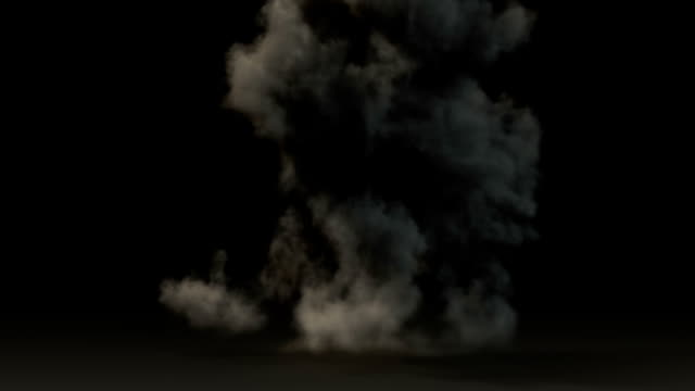 big explosion - ruined stock videos & royalty-free footage