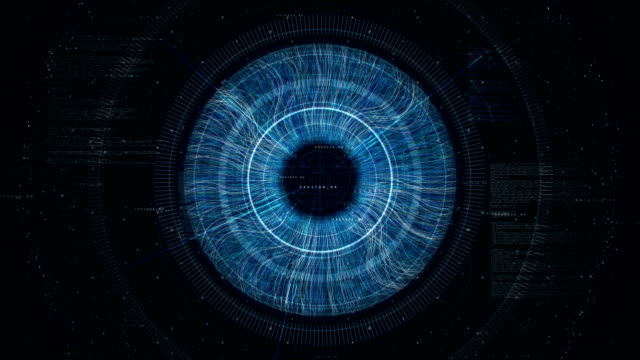 big eye loop - big brother orwellian concept stock videos & royalty-free footage
