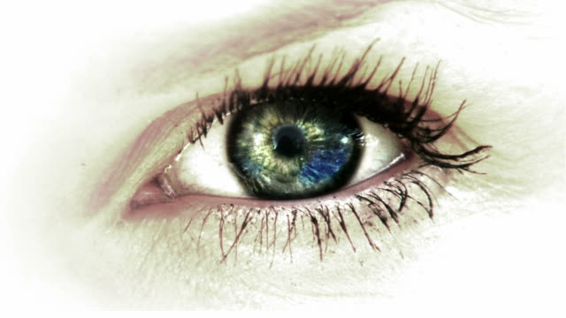 Grande occhio con riflessione di Nizza HD