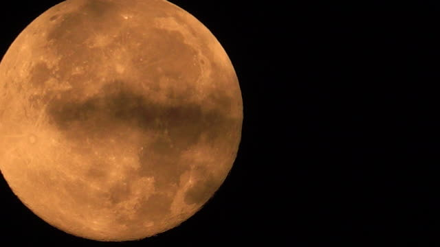 big full moonset in clouds - supermoon stock videos & royalty-free footage
