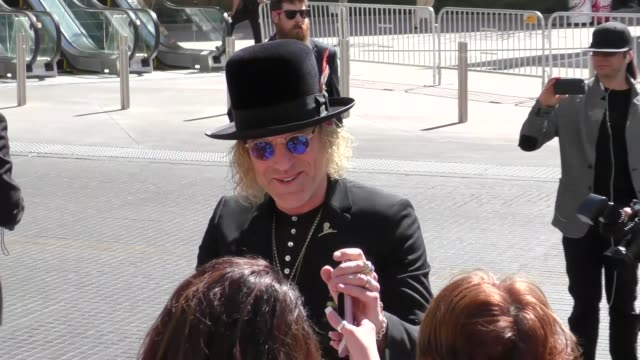 big kenny arriving to the 52nd academy of country music awards in celebrity sightings in las vegas - academy of country music awards stock videos & royalty-free footage