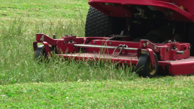 big mower - lawn mower stock videos and b-roll footage