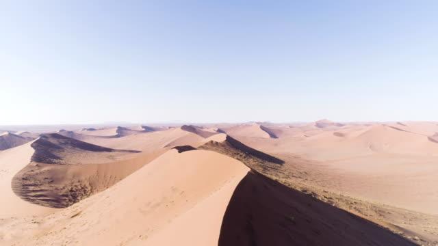 Big Namibia dune. Aerial view