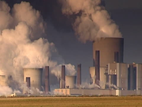 big power plant ntsc - coal fired power station stock videos and b-roll footage
