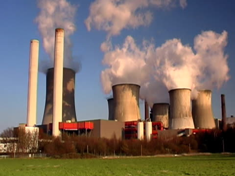 big power plant ntsc - carbon monoxide stock videos & royalty-free footage