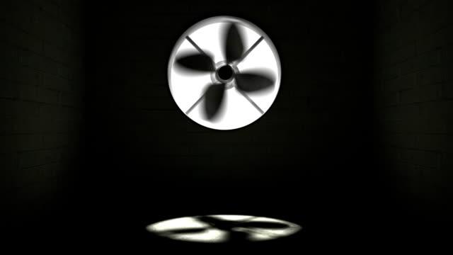 big rotating fan - electric fan stock videos & royalty-free footage