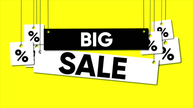 big sale - placard stock videos & royalty-free footage