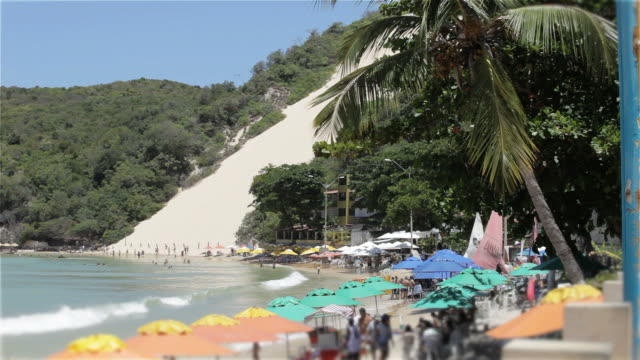 big sand dune in natal brazil - northeastern brazil stock videos and b-roll footage