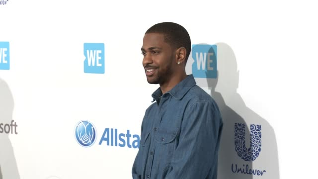 big sean at we day california at the forum on april 07 2016 in inglewood california - inglewood stock videos and b-roll footage