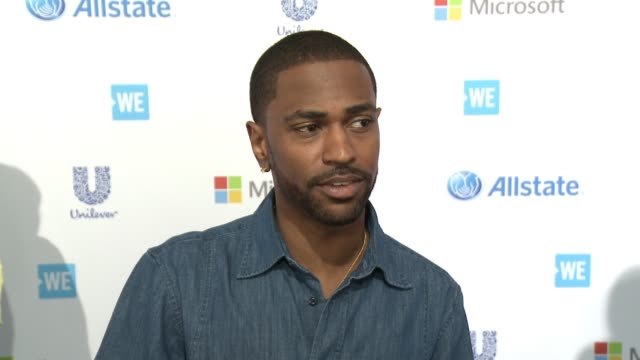 interview big sean on why he wanted to be apart of we day what makes these kids so inspiring and what he's most looking forward to at we day... - inglewood stock videos and b-roll footage