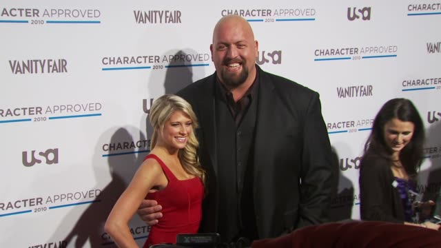 Big Show and Kelly Kelly at the 2nd Annual Character Approved Awards Cocktail Reception at New York NY