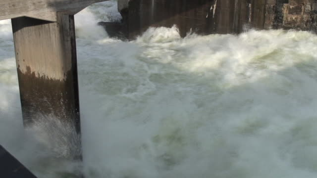 big waterfall - hydroelectric power stock videos & royalty-free footage