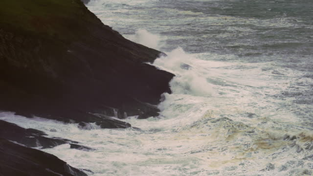 Big Waves, Storm, Islares. Cantabrian Sea, Cantabria, Spain, Europe