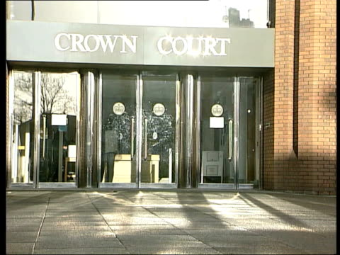 bigamy to assist illegal immigrants: 5 jailed; itn england: london: harrow ext harrow crown court gvs - harrow stock videos & royalty-free footage