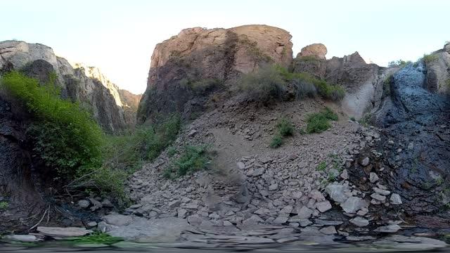 bigden nevada in 360 - slot canyon stock videos & royalty-free footage