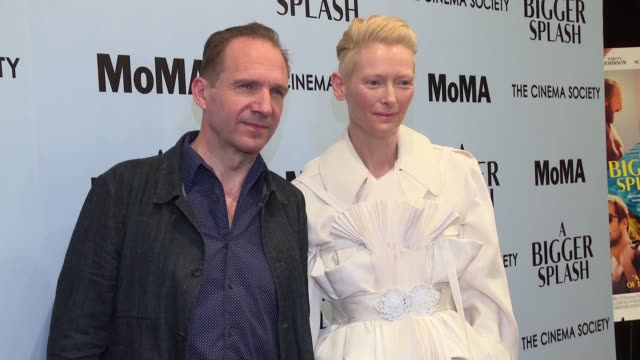 CLEAN 'A Bigger Splash' New York Screening Presented By Fox Searchlight at MoMA Titus One on April 21 2016 in New York City